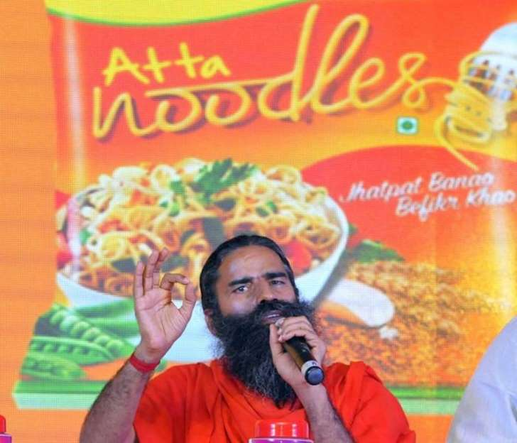Now, bugs in Patanjali atta noodles