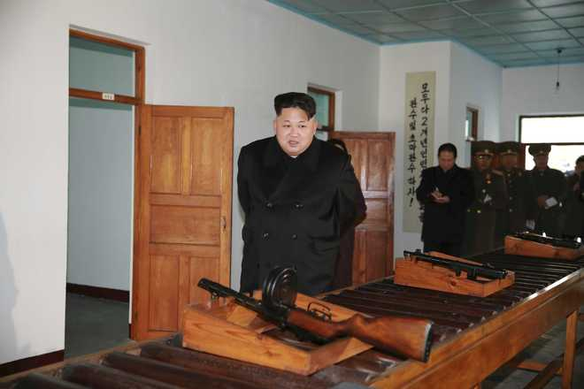 N Korea leader hints at H-bomb capability