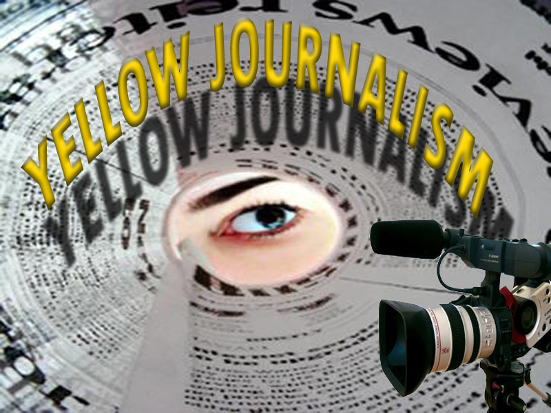 Blame it on yellow journalism and the paparazzi