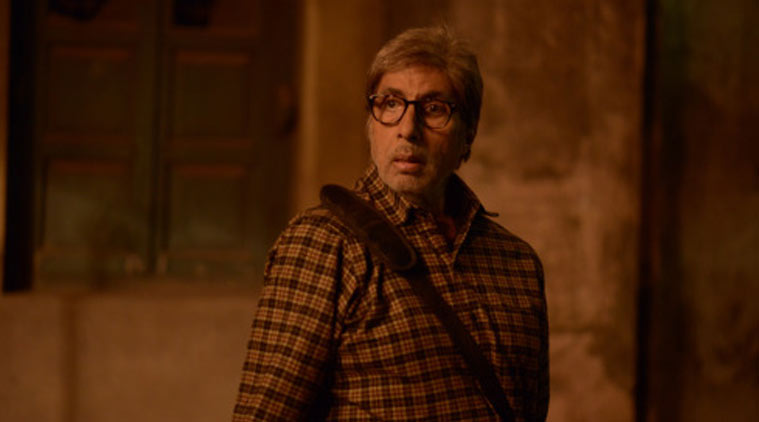 Amitabh hurts rib cage during 'TE3N' shoot.