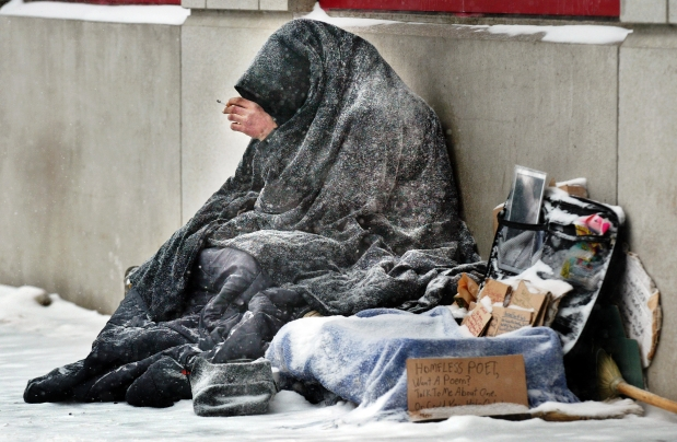 Look out for the homeless this winter