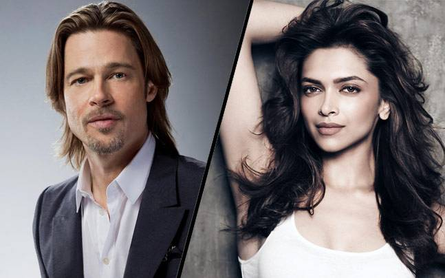 Deepika Padukone signs film opposite Brad Pitt?