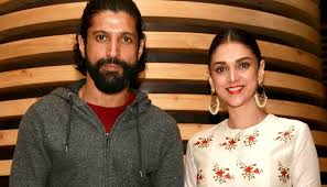 Farhan Akhtar and Aditi Rao Hydari Caught in the Act?!