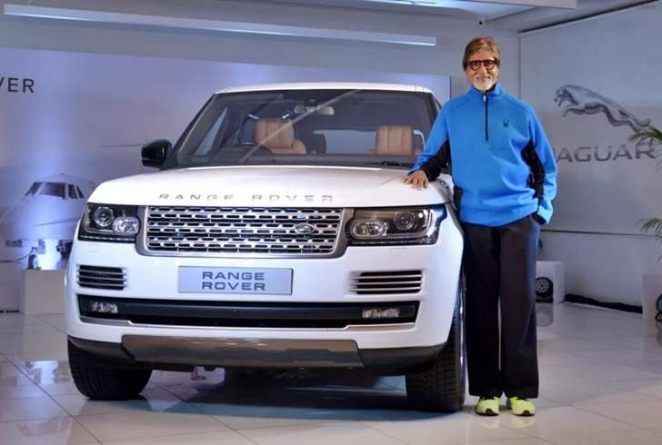 Amitabh Bachchan adds a new Range Rover to his garage