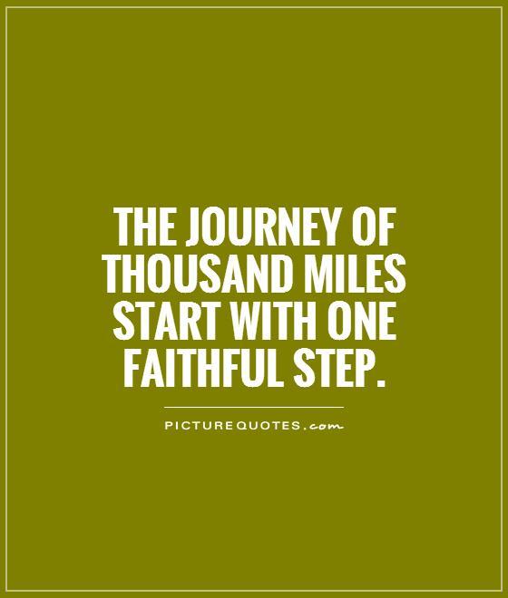Journey of the faithful